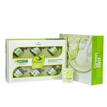 Green bird đường kiêng củ cải - set 6