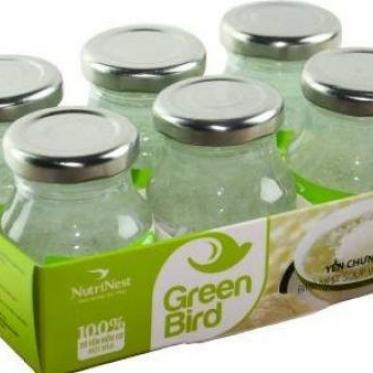 Green bird đường phèn - khay